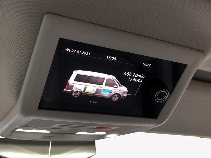 VW California Coast 6.1 Interior Screen
